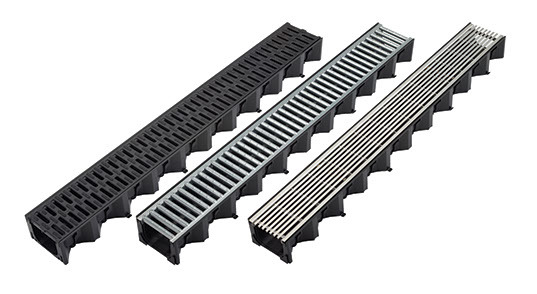 3 Metres Decorative Drainage Channel Garage Pack /& Accessories